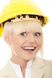 Portrait of confident female worker Royalty Free Stock Photos