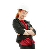Portrait of confident female worker Royalty Free Stock Images