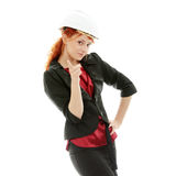 Portrait of confident female worker Stock Photography