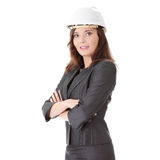 Portrait of confident female worker Royalty Free Stock Image