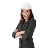 Portrait of confident female worker Royalty Free Stock Photography