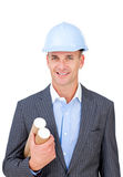Portrait of a confident male architect Royalty Free Stock Images