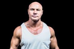 Portrait of confident man in vest Stock Photo