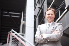 Portrait of a confident mature businessman Stock Photo