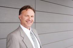 Portrait of a confident mature businessman Stock Photos