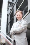 Portrait of a confident mature businessman Stock Images