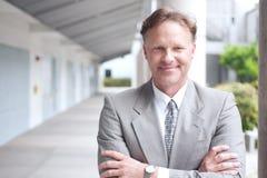Portrait of a confident mature businessman Royalty Free Stock Image
