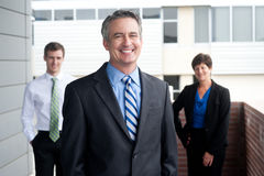 Portrait of a confident mature businessman Royalty Free Stock Photography