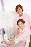 Portrait of confident office workers Stock Photography