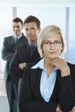 Portrait of confident professionals Stock Photos