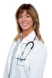 Portrait of a confident smiling medical expert Stock Image