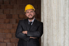 Portrait Of Confident Young Architect Royalty Free Stock Images