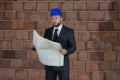 Portrait Of Confident Young Architect Stock Images