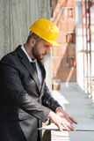 Portrait Of Confident Young Architect Royalty Free Stock Image