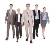 Portrait of confident young business people Stock Image