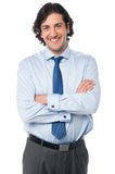 Portrait of a confident young business person Stock Photos