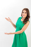 Portrait of a confident young business woman Royalty Free Stock Photo