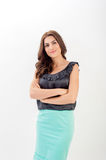 Portrait of a confident young business woman Royalty Free Stock Images