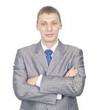 Portrait of a confident young businessman Stock Image