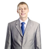 Portrait of a confident young businessman Stock Images