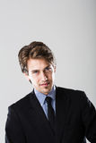 Portrait of a confident young businessman Royalty Free Stock Photography