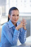 Portrait of confident young businesswoman Royalty Free Stock Photos