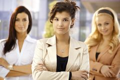 Portrait of confident young businesswoman Royalty Free Stock Photo