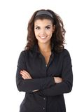 Portrait of confident young female Stock Photo