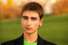 Portrait of confident young man Royalty Free Stock Photo