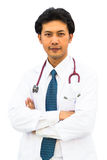 Portrait of confident young medical doctor Royalty Free Stock Image