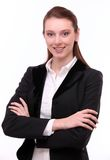 Portrait of confident young woman. Stock Image