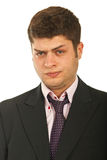 Portrait of confused business man Stock Photography