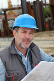 Portrait of construction manager Royalty Free Stock Photo