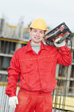 Portrait of construction worker Royalty Free Stock Images