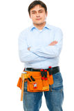 Portrait of construction worker Royalty Free Stock Photography
