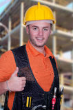 Portrait of construction worker Royalty Free Stock Photo