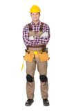 Portrait of construction worker Stock Photography