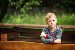 Portrait of cool looking boy Stock Photography