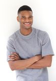 Portrait of a cool young black man smiling Stock Photography