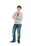 Portrait Of A Cool Young Guy Royalty Free Stock Photo