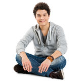 Portrait Of A Cool Young Guy Royalty Free Stock Image