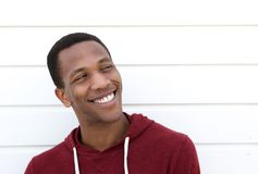 Portrait of a cool young man smiling Stock Photo