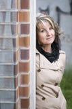 Portrait on the corner Stock Photo