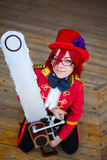 Portrait of the cosplay girl Royalty Free Stock Photo