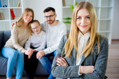 Portrait of a counselor Stock Images