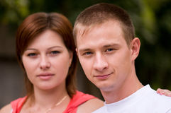 Portrait of couple Royalty Free Stock Images
