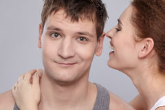 Portrait of couple Stock Images