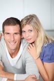 Portrait of couple Stock Image