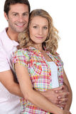 Portrait of a couple. Portrait of affectionate couple hugging Royalty Free Stock Images