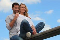 Portrait of a couple Stock Photos